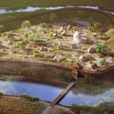 Abaújvár – Earth castle along the River Hernád